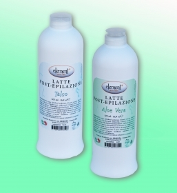 Latte Post-Epilazione ELEMENT ml 500 Varie Fragranze Professionale